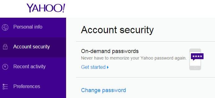 on-demand passwords