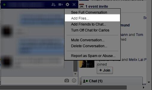facebook share files