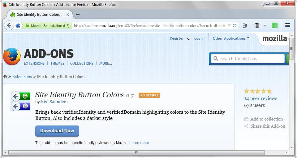 site identity colors