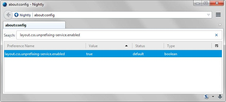 Mozilla adds webkit prefix emulation to select sites in Firefox 39