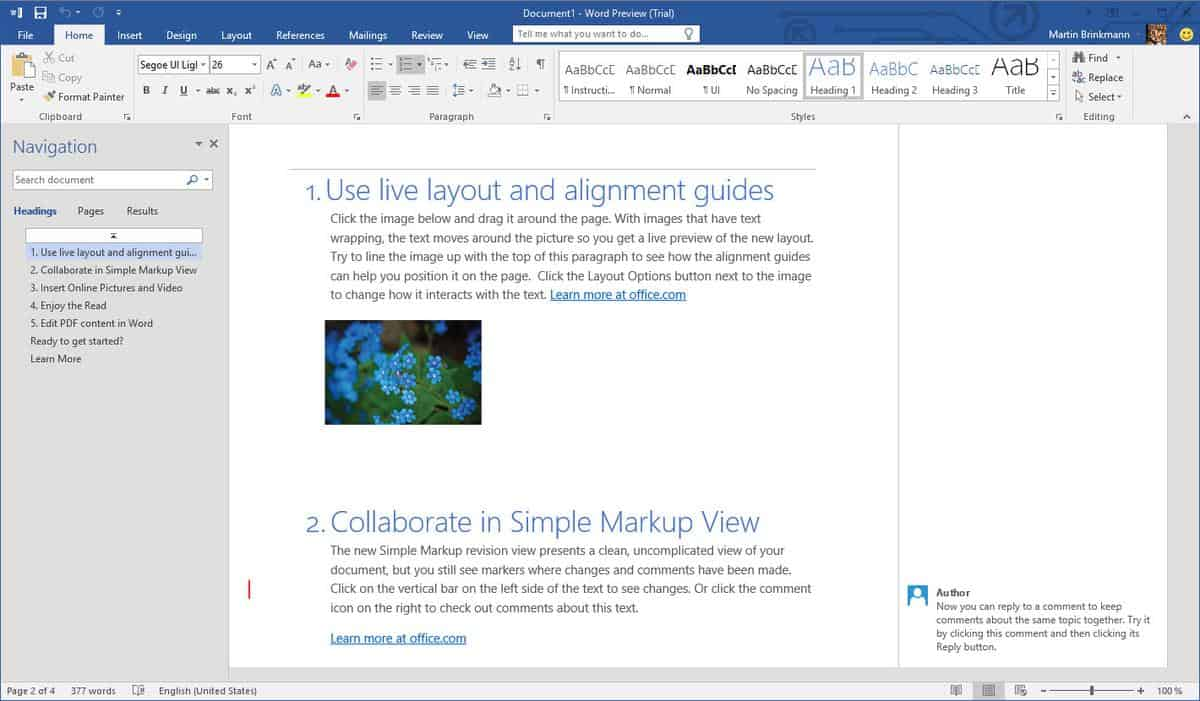 what you need to know about office before you install it word 2016 preview microsoft