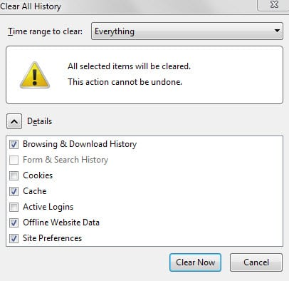 how to delete all history on your laptop
