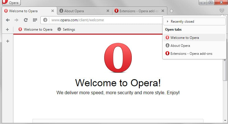 Opera 30 has been released