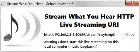 stream what you hear