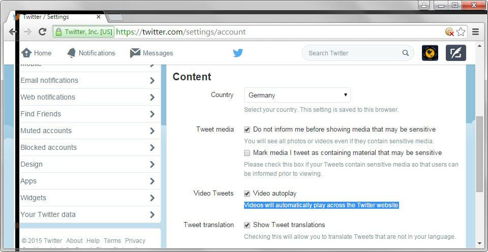 twitter video auto-play