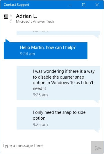 Windows 10 issues? Contact tech support from within Windows ...