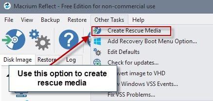 rescue media