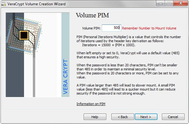TrueCrypt alternative VeraCrypt 1.12 ships with interesting PIM feature