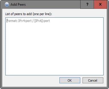 add peers