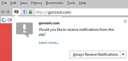 Everything you need to know about Push notifications in Firefox