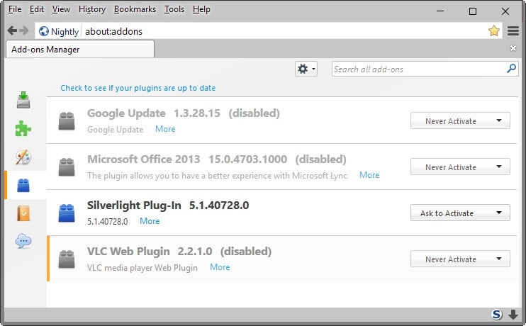 silverlight plugin