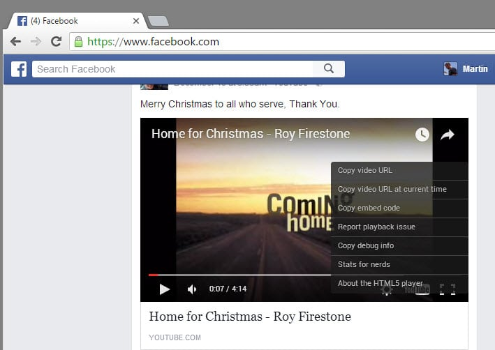 Facebook Video Swaps Flash for HTML5