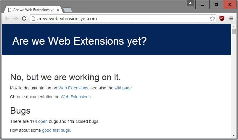 firefox webextensions