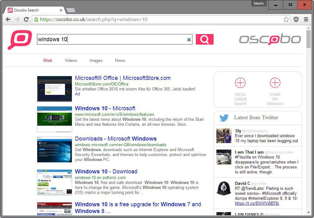 oscobo search