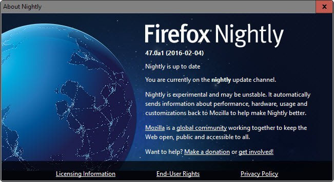 firefox releases