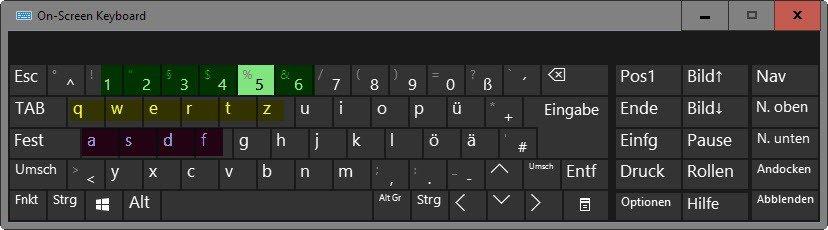 keyboard passwords