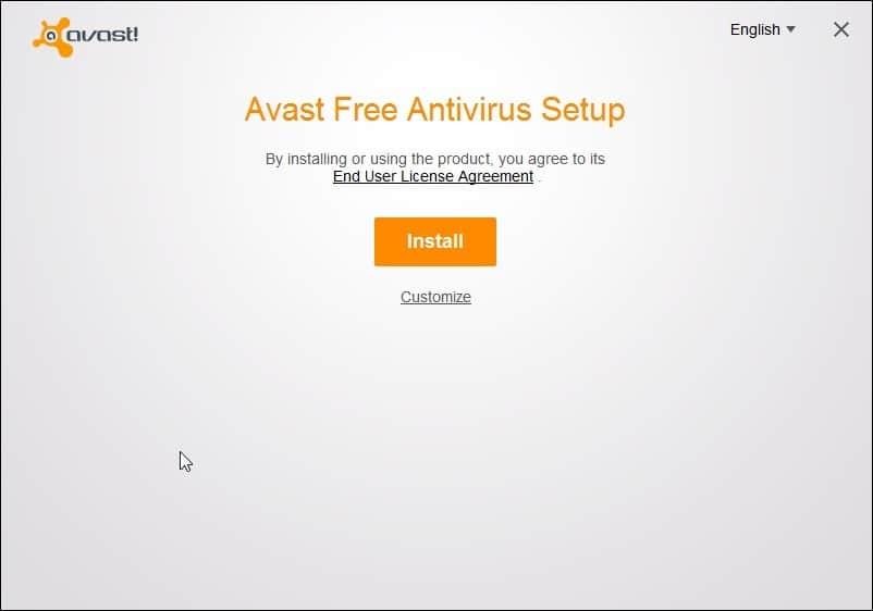 avast free setup