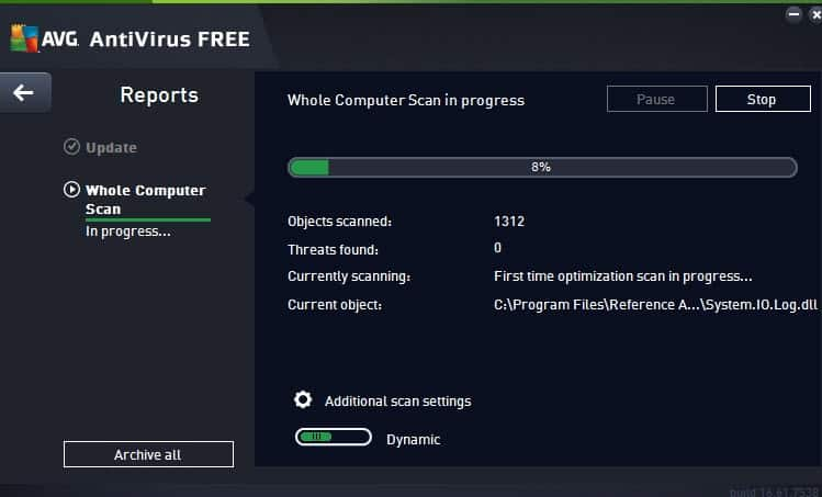 avg antivirus free scan