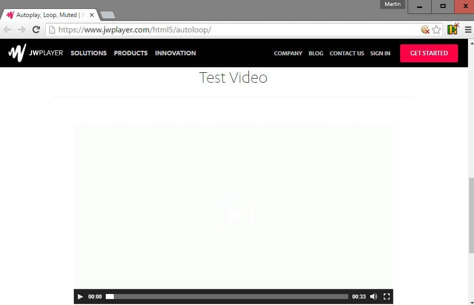 chrome html5 auto play