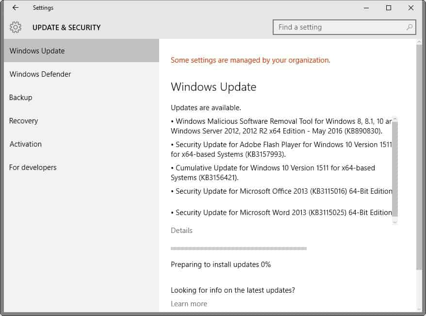 microsoft security bulletins may 2016