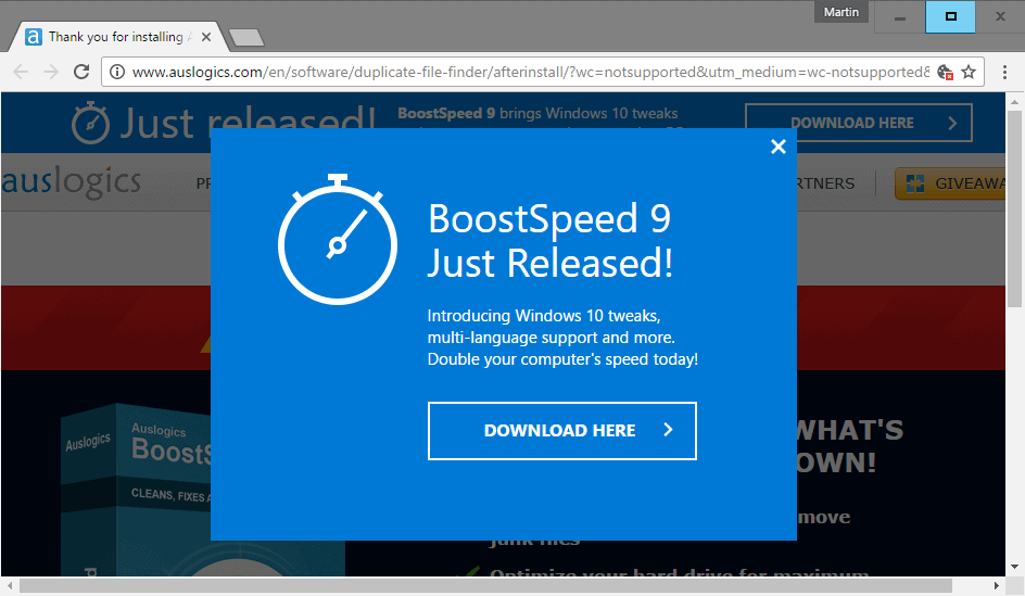 boostspeed