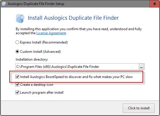 install offer