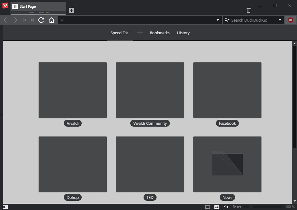 vivaldi black theme