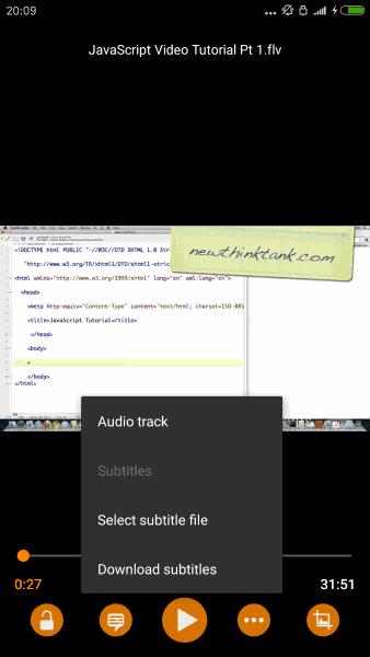 vlc subtitle download