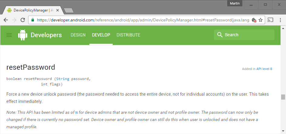android n ransomware resetpassword