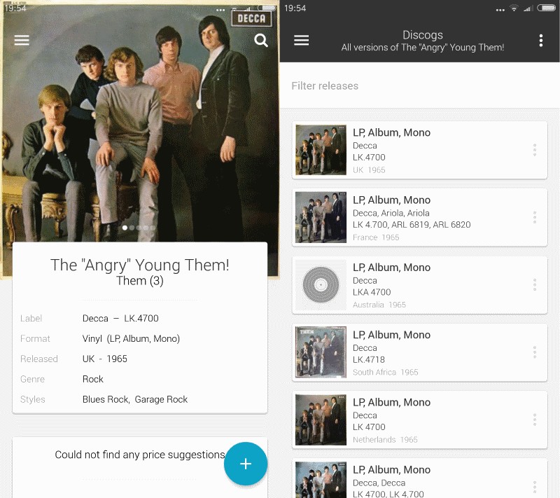 discogs market android