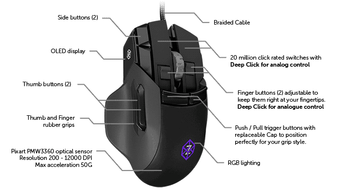 The Z is an innovate computer mouse