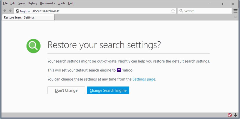 Change your default search settings in Firefox | Firefox Help