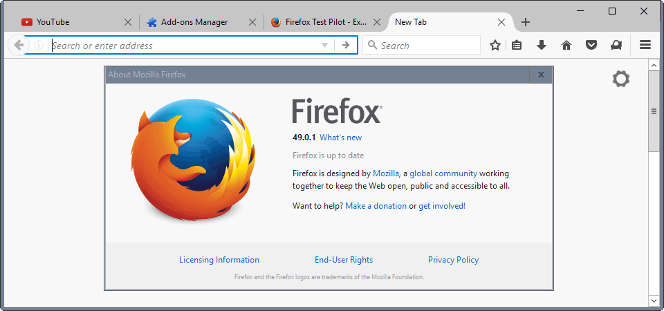 Windows vista mozilla firefox darin smalls for Web and windows