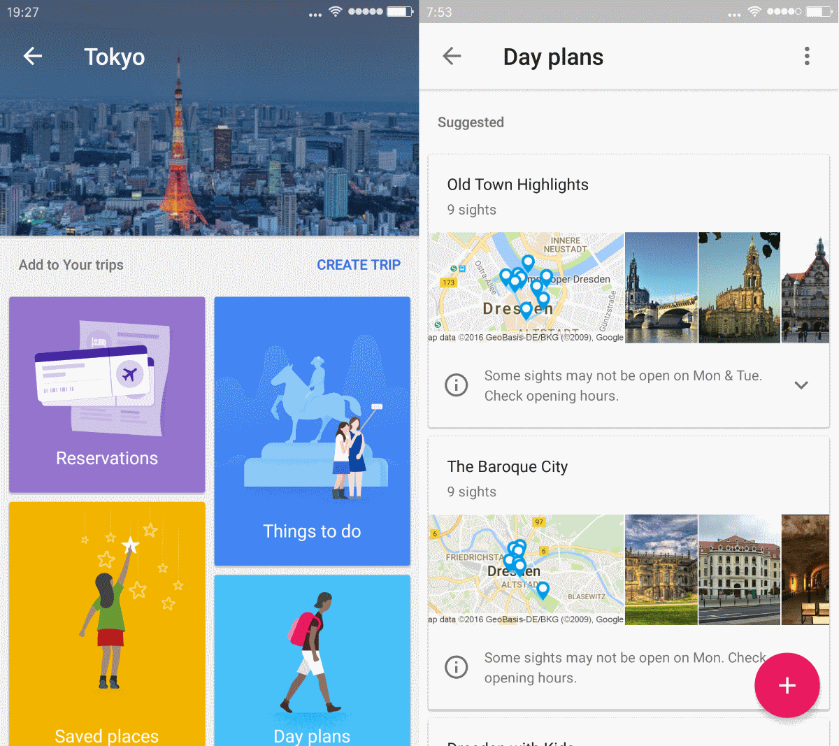 Quick look at google trips ghacks tech news for Goodl