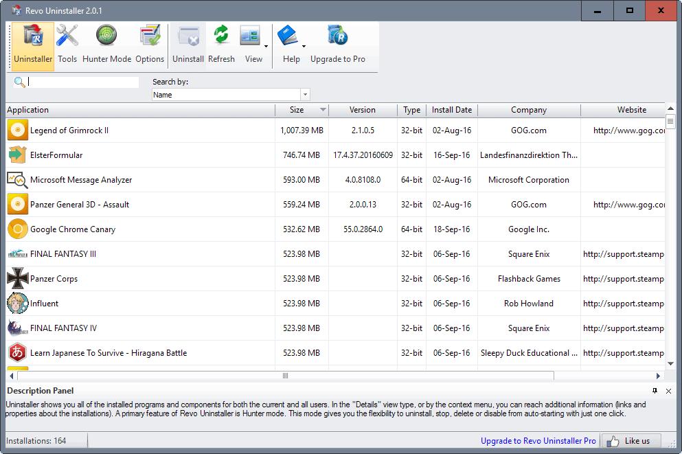 revo uninstaller 2.0.1