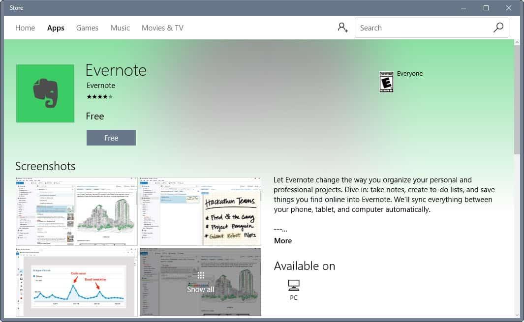 windows store desktop converter
