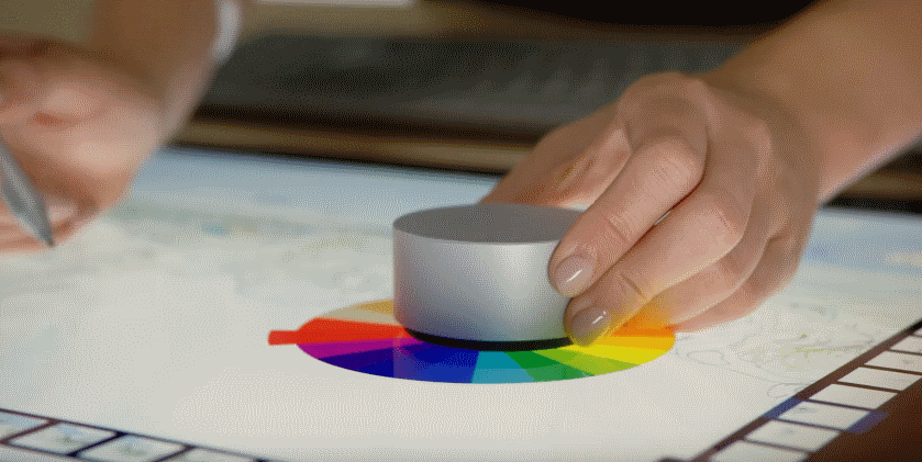 Microsoft's Surface Dial