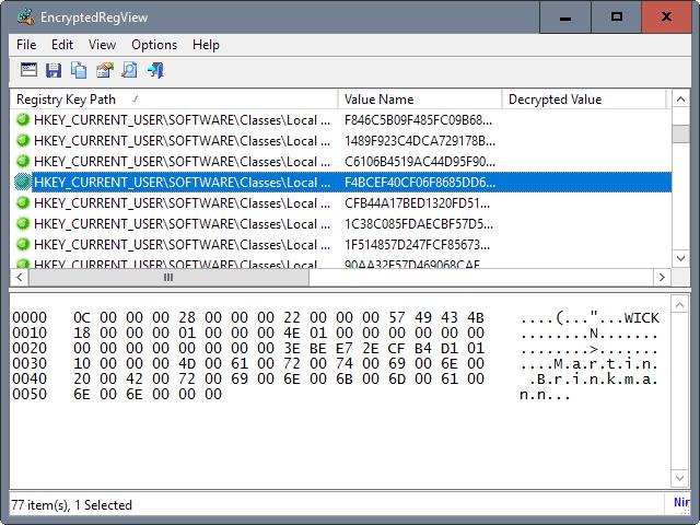 encryptedregview