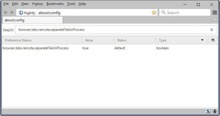firefox53 local file access content process