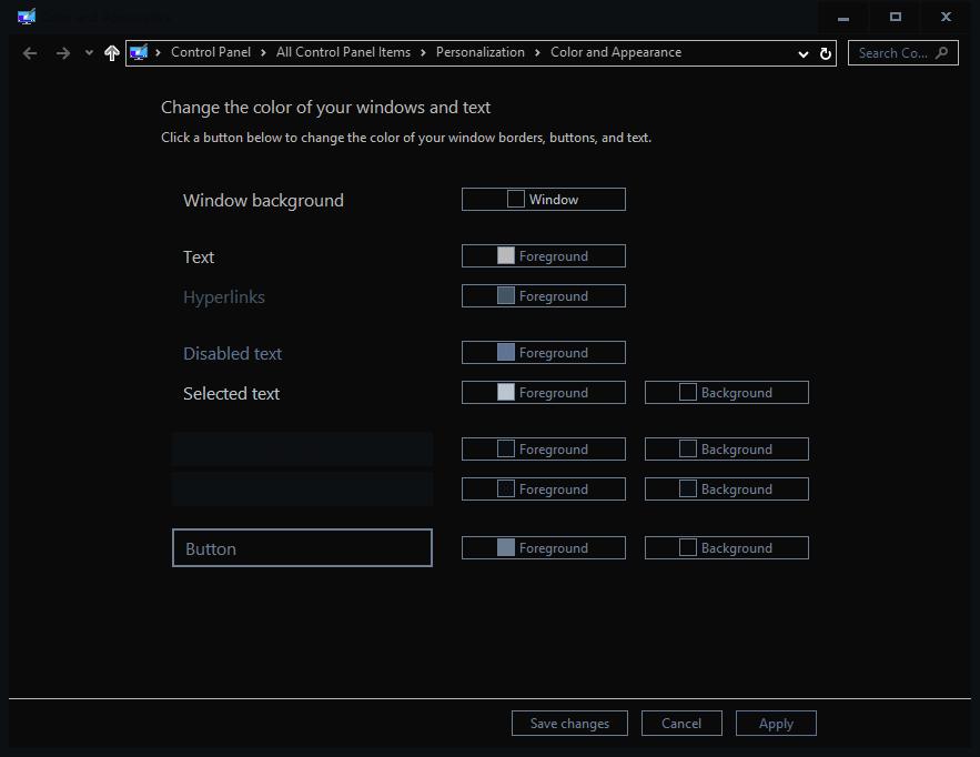 customize theme