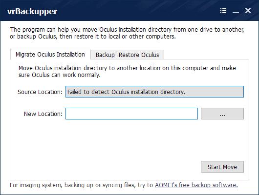 vrbackupper virtual reality data backup