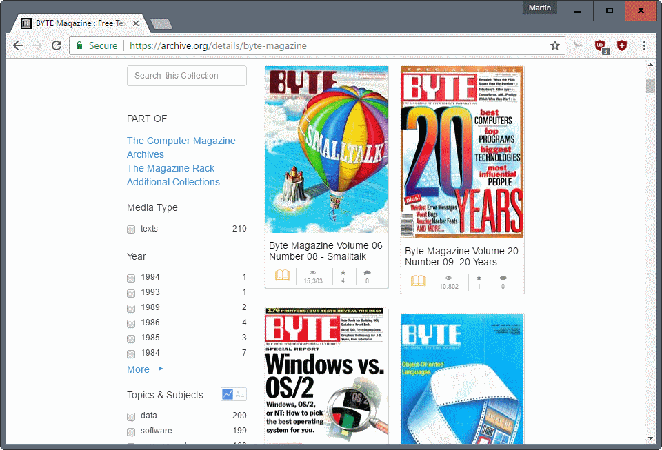 Computer Magazines Archive