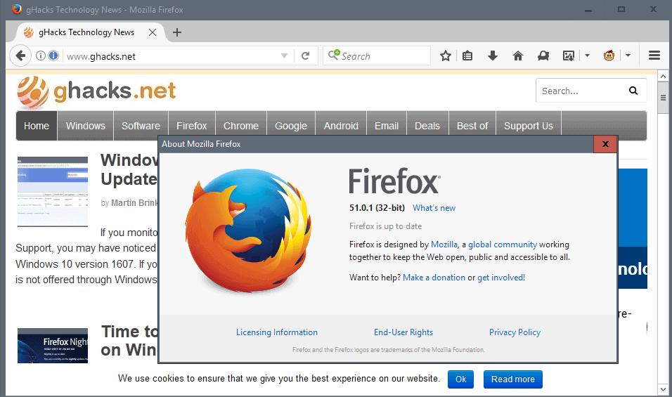 firefox 51.0.1 en francais