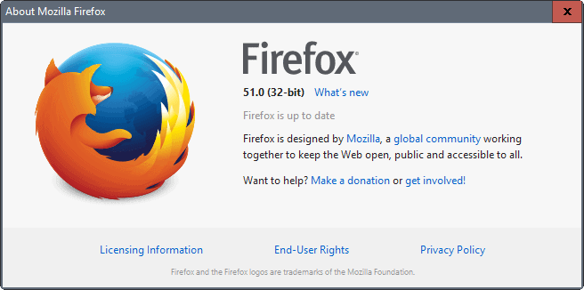 Firefox 51: Find out what is new