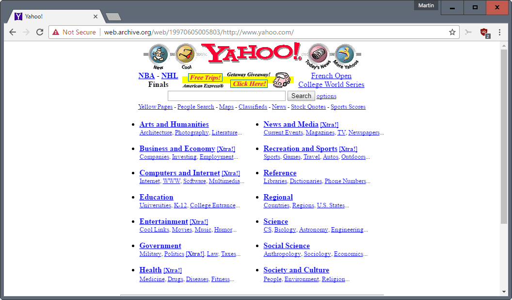 The future of Yahoo's Web Properties