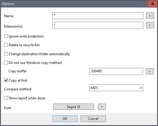 file move options
