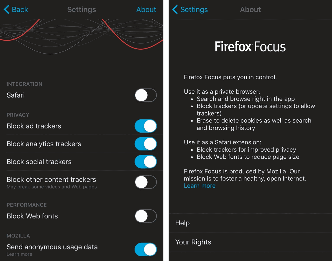 Firefox Focus privacy scandal