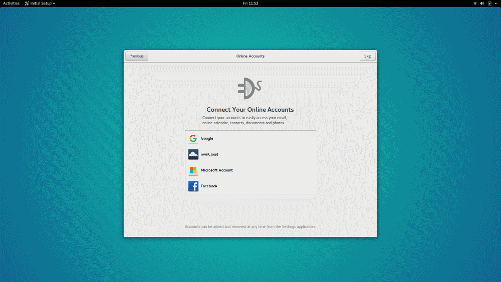 GNOME Startup