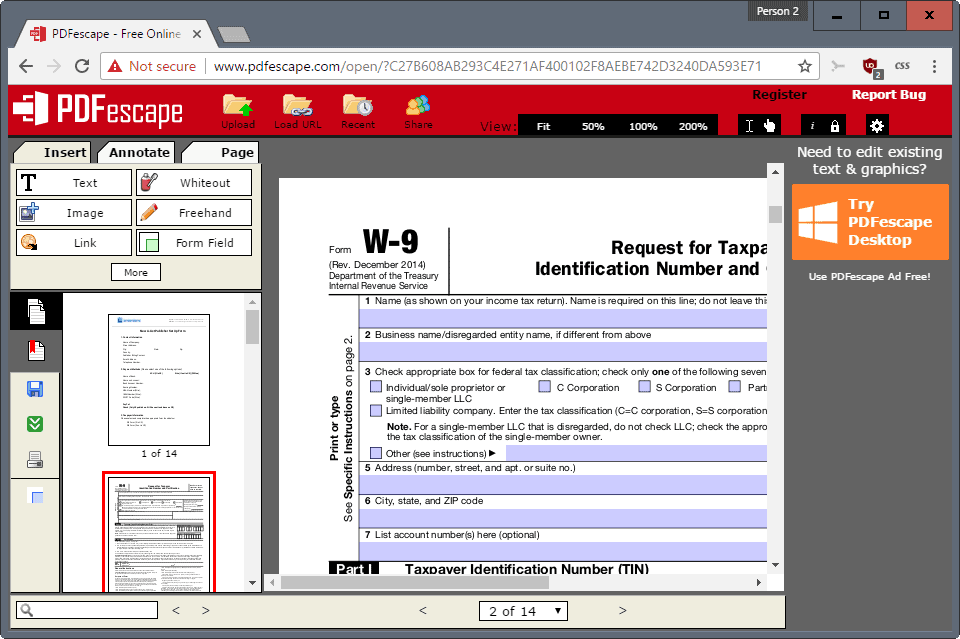 Pdf Editor For Window 7