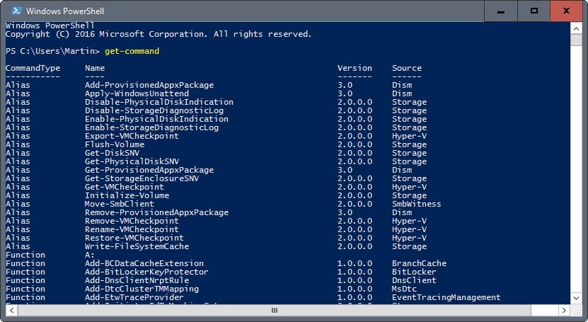 Learn PowerShell, using PowerShell